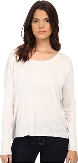 Cashmere Blend Circle Sweater