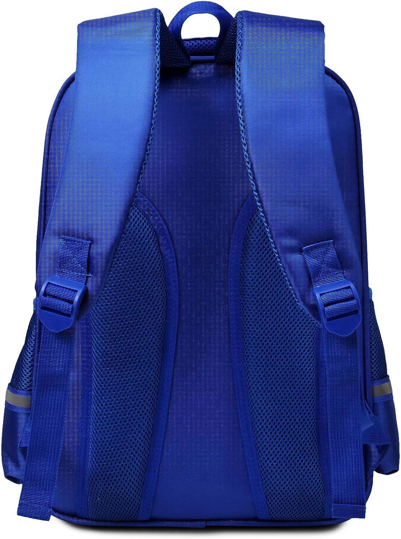 Waterproof Lightweight Reflective Backpacks School bag Book bags Kindergarten Backpack for Kids Boys elementary school