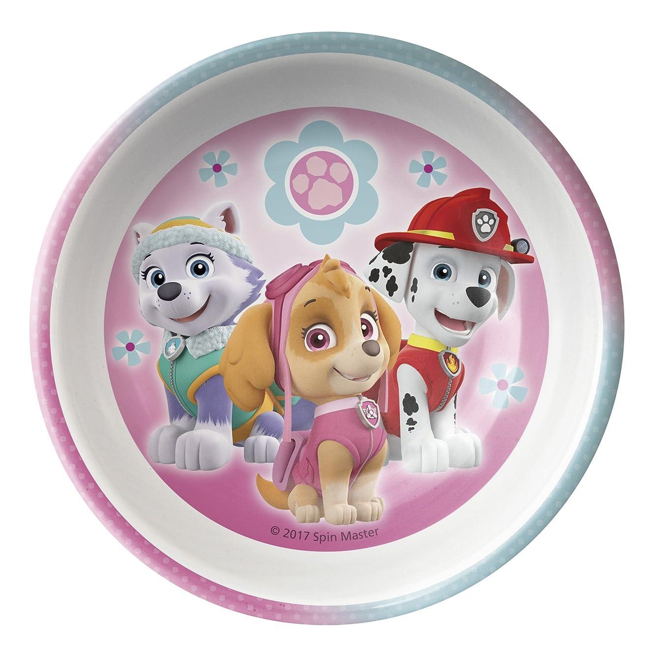 Nickelodeon PWPI-0363 Paw Patrol Girl Mel Bowl W-Rim, 15 oz, Multicolor