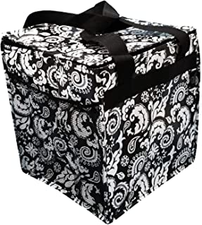 Two Lumps of Sugar Trunkey Tote - Thermal Lined Folding Carryall Black