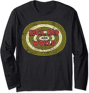 Sick Sad World Inverted Logo Long Sleeve T-Shirt