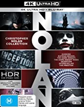 Christopher Nolan Complete Collection (4K Ultra HD + Blu-ray)