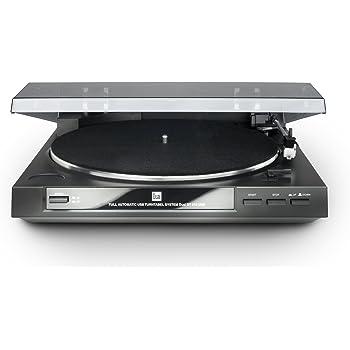 DGC Dual DT 210 Platine vinyle Port USB 33/45 tours/min Noir