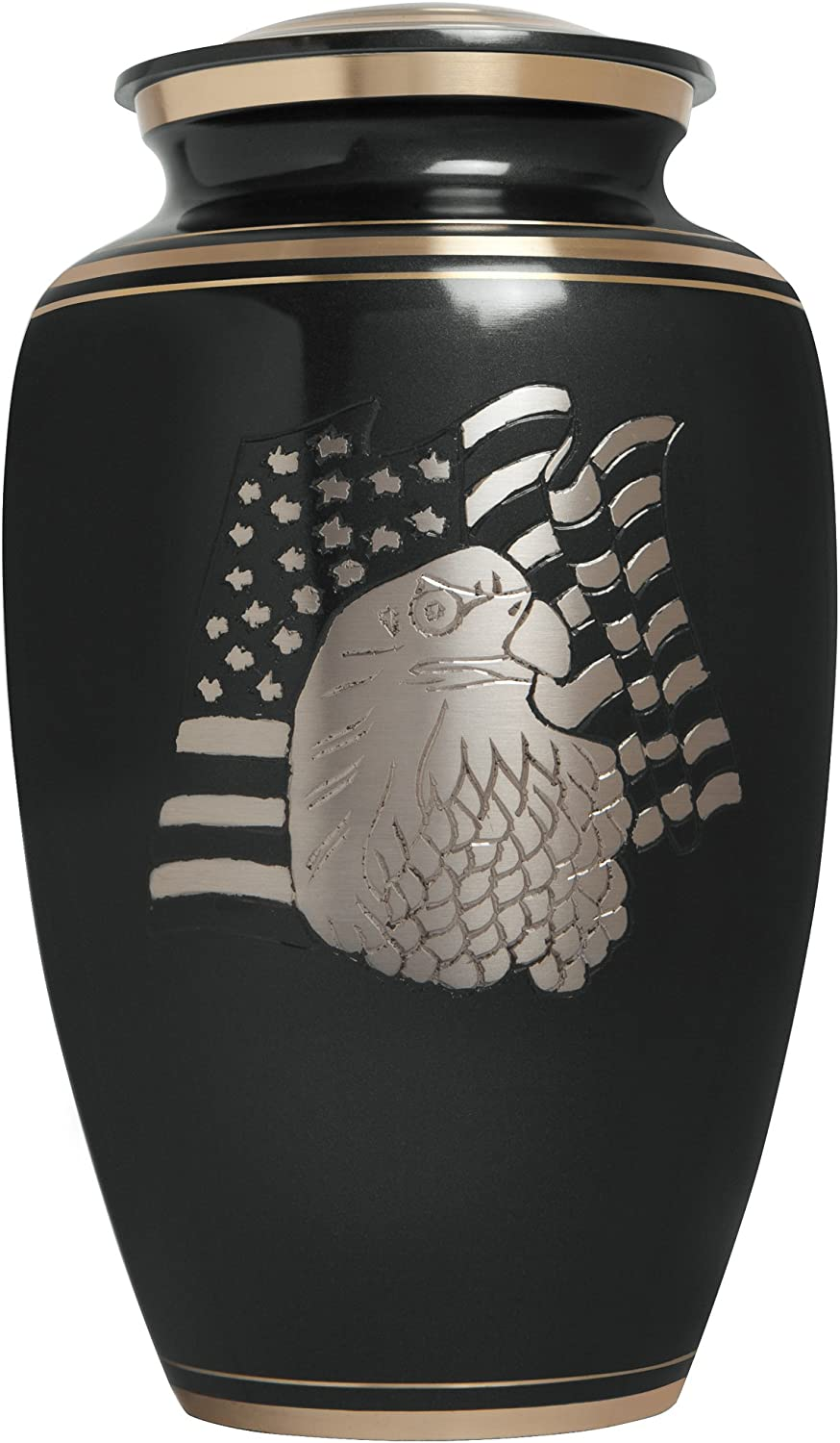 Black Funeral Urn by Topics on TV Liliane Memorials- for Ranking TOP11 Human Cremation