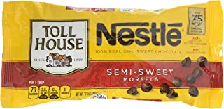 NESTLE TOLL HOUSE Real Semi-Sweet Chocolate Morsels 12 oz. Bag