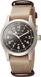 Khaki Field Brown Dial Nylon Strap Men's Watch H69429901