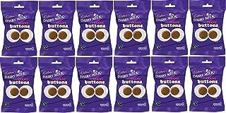 Chocolates de leche de Pascua Cadbury Giant Buttons, 12 unidades, 80 g