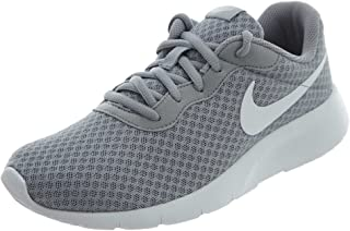 Nike Boy's Tanjun (GS) Wlfgry/White Running Shoes-3.5 UK/India (36 EU) (818381-012)
