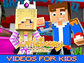 Clip: Little Donny: Prince of Minecraft - Videos for Kids