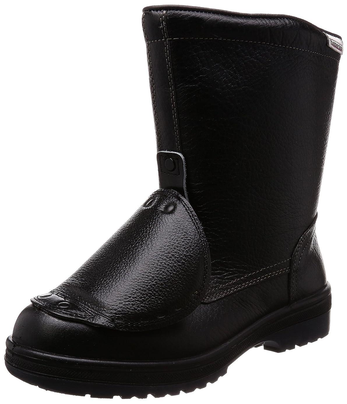 和ツーリスト酸っぱい安全靴 JIS規格 甲プロテクタ付き 半長靴 ラバーテック RT940 甲プロ メンズ