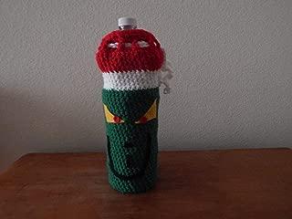 Handmade Crochet Grinch Wine Bottle Cover