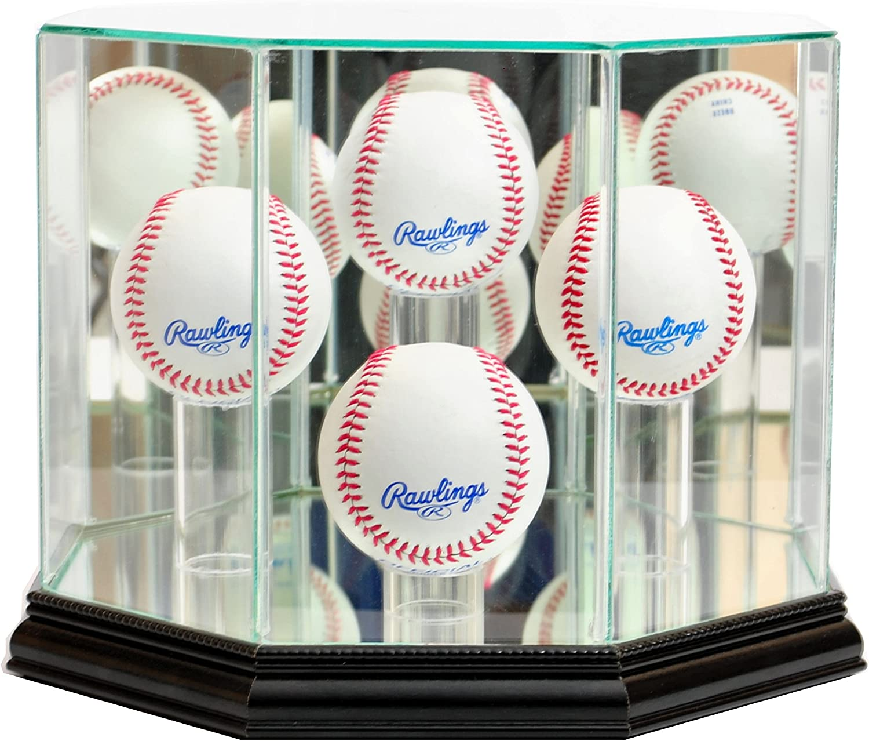4 Max Milwaukee Mall 53% OFF Octagon Baseball Display Case
