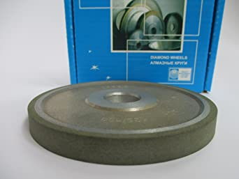 20mm. 125//100 Micron 150 Grit Type: 12A2-45 Cup Tool Diamond Grinding Wheel 100mm. Hole 0.79 Dia 4 Width: 0.4 10mm.