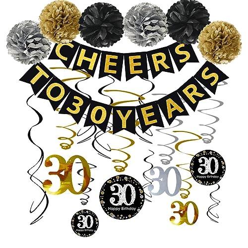30 Year Anniversary Decorations Amazon