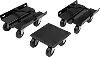 Extreme Max 5800.2003 Economy Snowmobile Dolly System - Black