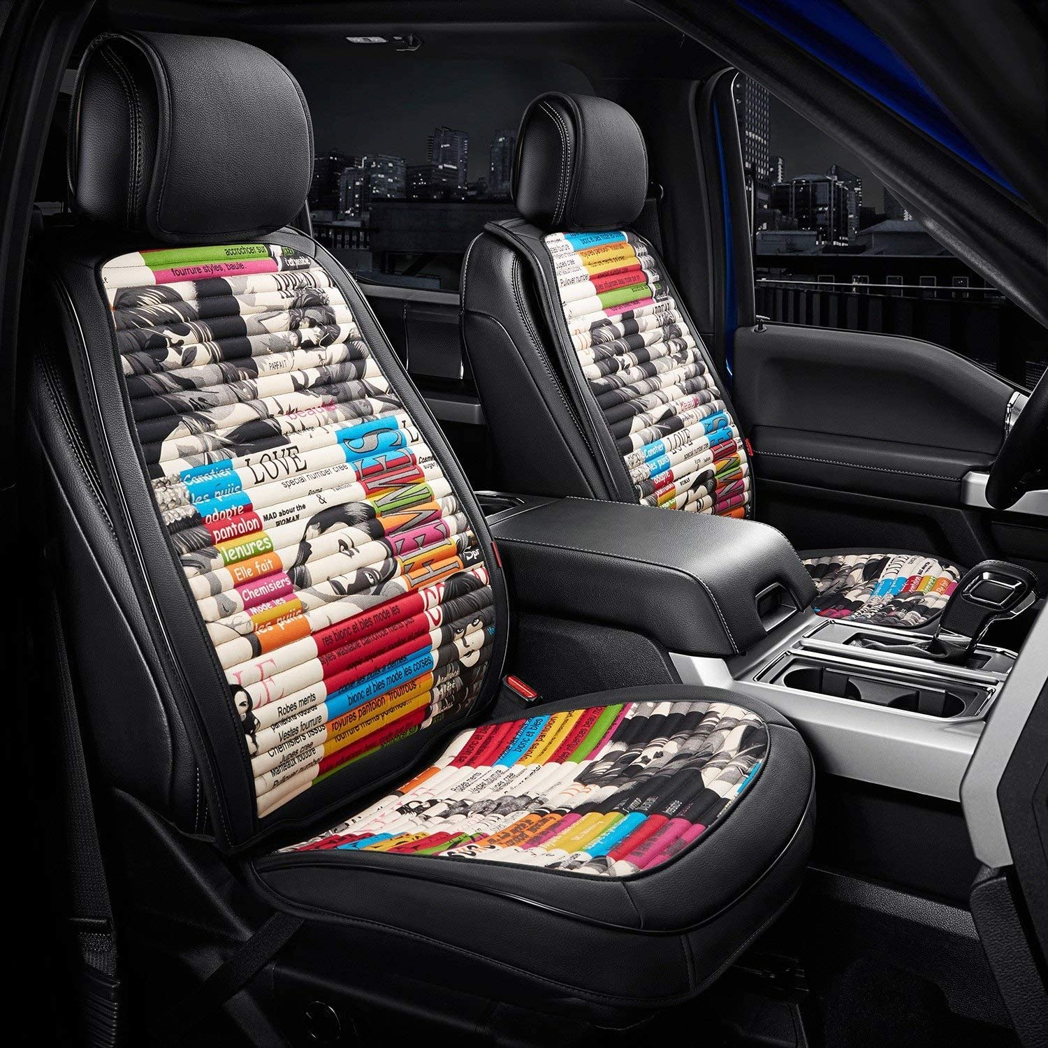 Front Seat Covers Designer Series - Row New Shipping Free Shipping F Cover 1st Nonslip Latest item