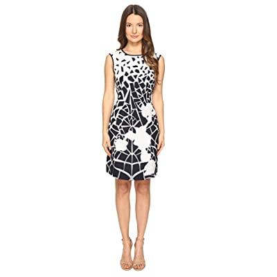 Alberta Ferretti Sleeveless Dress (Blue/White) Women