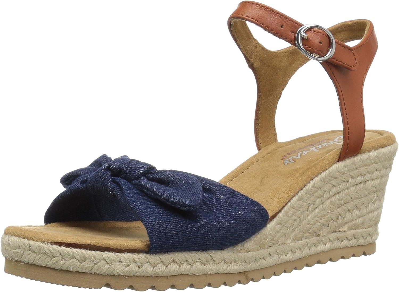 Skechers Womens Monarchs - Daisy Dukes Wedge Sandal