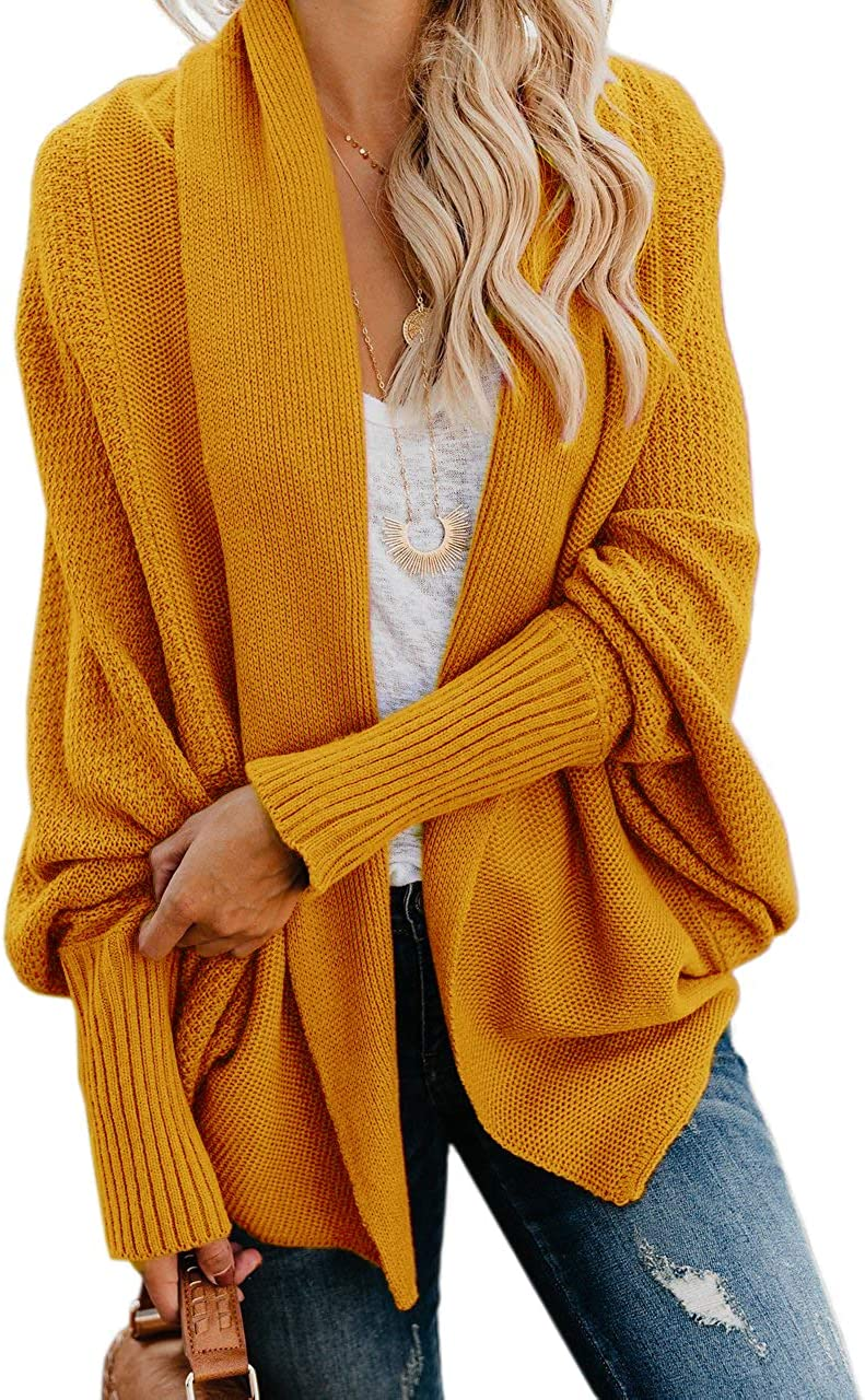 Elysa Kees Womens Kimono Batwing depot Oversized Direct store Slouchy Knitted Cable