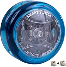Yomega Power Brain XP yoyo - responsive professional yoyo with Smart Switch which enables Players to Choose Between auto-Return and Manual Styles of Play. + Extra 2 Strings & 3 Month Warranty