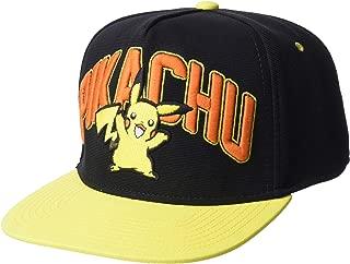 Pokemon Pikachu Design Snapback Cap