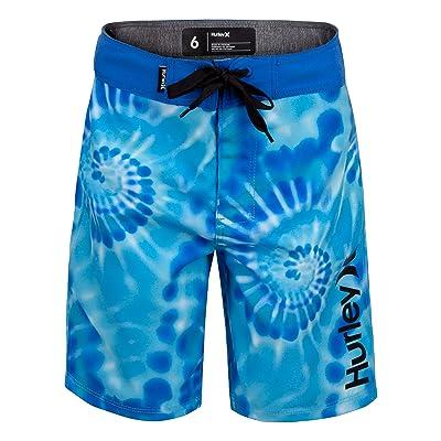 Hurley Kids Tie-Dye Boardshorts (Little Kids)