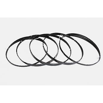 2er SET Holzbands/ägeblatt 2360 x 6 x 0,65 mm 6 ZpZ Holzs/ägeband S/ägeband passend f/ür Scheppach BASATO 3 Vario