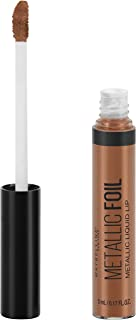 Maybelline Lip Studio Metallic Foil Metallic Liquid Lipstick Makeup, Calypso, 0.16 fl. oz.