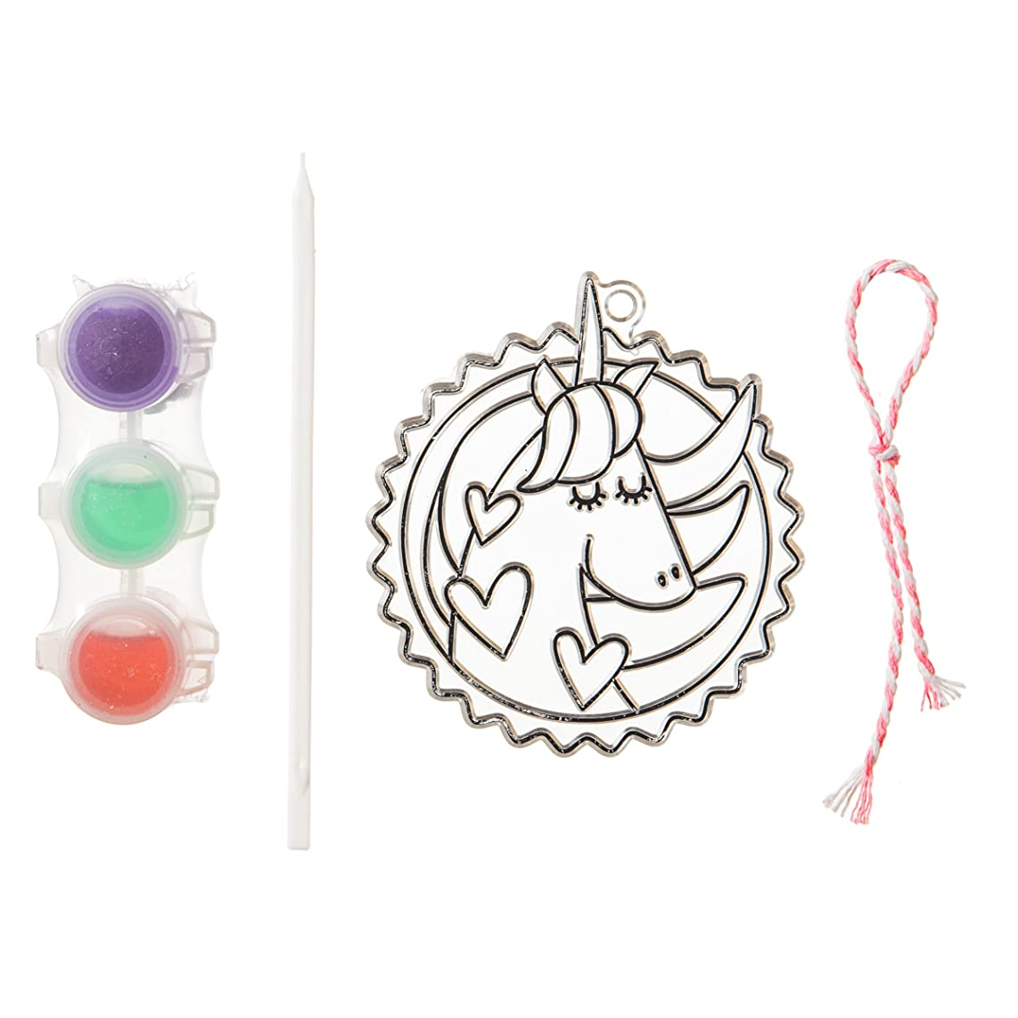 Darice 30041833 Unicorn Suncatcher, Clear/Transparent
