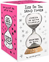 Time for You Sand Timer: (5-Minute Hourglass for Self-Care and Stress Relief, Mindfulness Glass Timer with Sparkling Sand)
