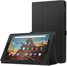 MoKo Case for All-New Amazon Fire HD 10 Tablet (7th Generation and 9th Generation, 2017 and 2019 Release) - Slim Folding S...