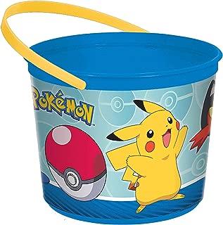 Pokemon Core Favor Container Birthday Party Loot Treat Bucket