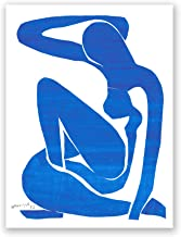 Blue Nude - Henri Matisse - Fine Art Collections - 18x24 Matte Poster Print Wall Art