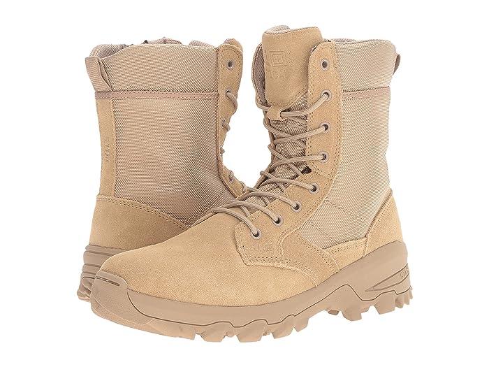 5.11 Tactical  Speed 3.0 Desert Side Zip (Coyote) Mens Work Boots