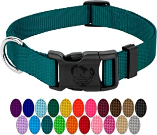 Country Brook Design - Deluxe Nylon Dog Collars-Various Colors & Sizes Available