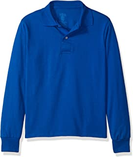 royal blue polo shirts for school