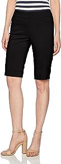 Slim-Sation Women's Shorts,  Black,  Size 12