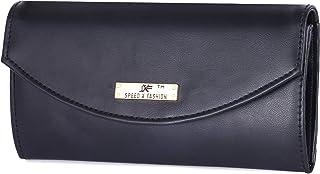 Speed X Fashion Women's Clutch |Genuine PU | L=7.5 inch,B=1 inch,H=4 inch| SB007