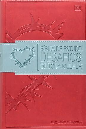 Bíblia de Estudo Desafios de Toda Mulher. Vermelha