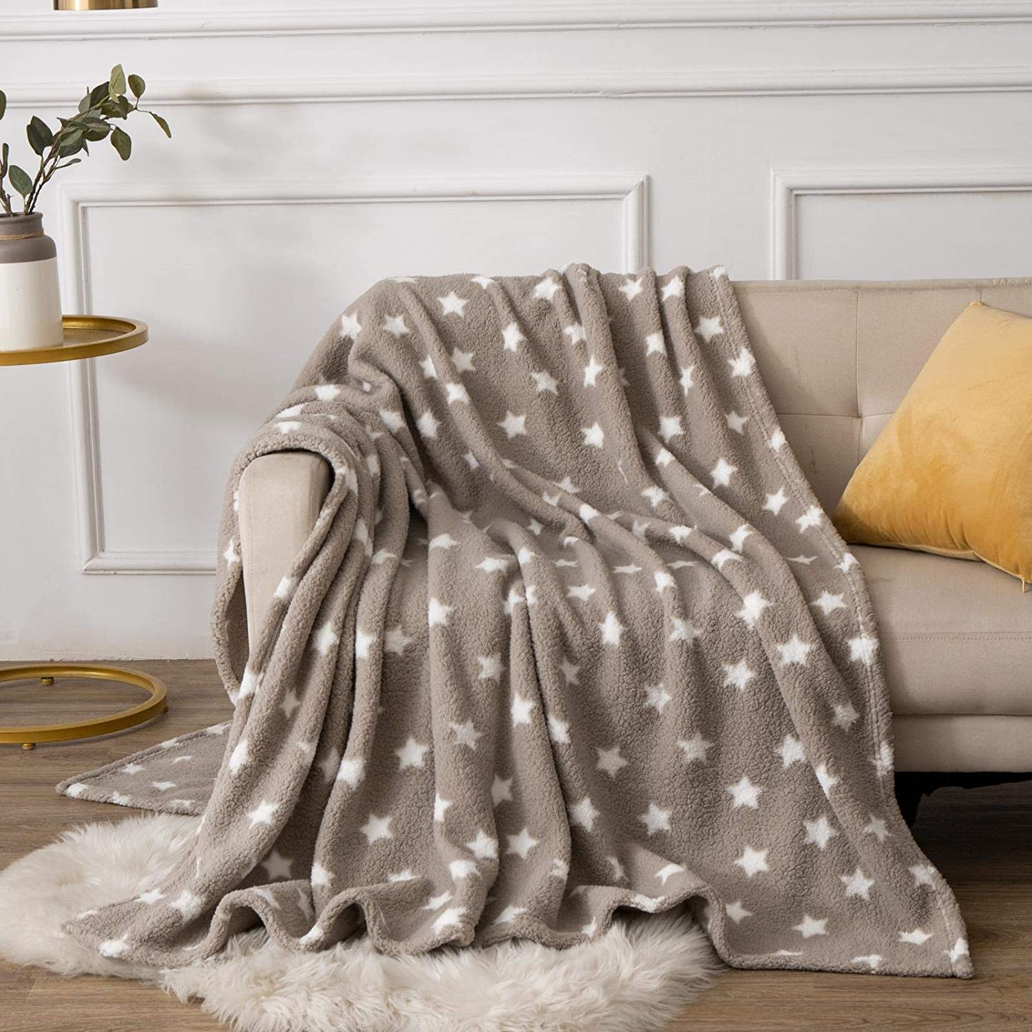 150cm x 200cm X11 Homeware Warm Elegant Sofa Bed Throw Blanket Double /& King Size Throw over Soft BedSpread Settee Throw Twinkly Blue, Double