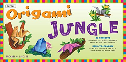 Origami Jungle Ebook: Create Exciting Paper Models of Exotic Animals and Tropical Plants: Origami Book with 42 Projects: Great for Kids and Adults