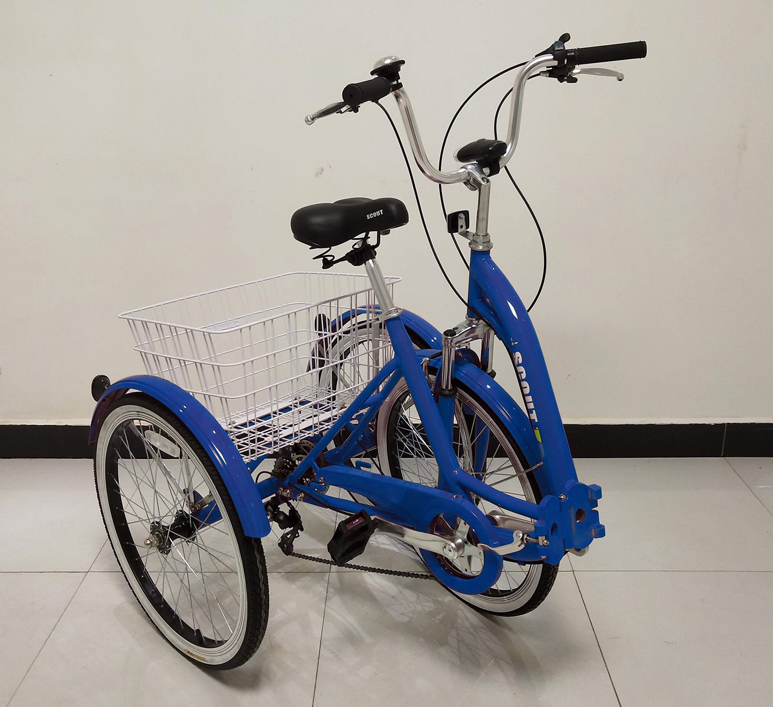 Quality Triciclo para Adultos, Bicicleta de Tres Ruedas, Cuadro ...