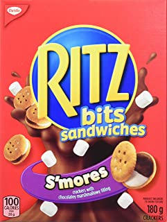 Ritz Bits Sandwiches Smores 180 Gram/6.34oz (Pack of 1) {Imported from Canada}