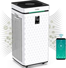 COLZER 3500 Sq Ft WiFi Smart Air Purifiers for Home Large Room with Dual H13 HEPA + Activated Carbon Composite Filter High...