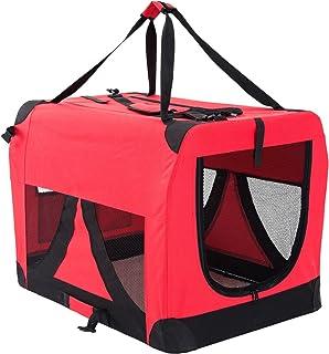 Paw Mate Soft Dog Crate L - Red (PET-3002L-RD)