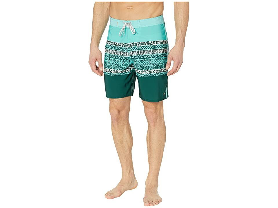9196a30887 Quiksilver Waterman 19 Liberty Triblock Boardshorts (Blue Radiance) Men