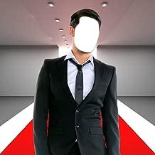 man suit photo frame download