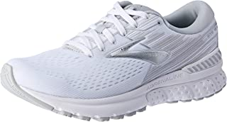 Brooks Australia Women's Adrenaline GTS 19 Road Running Shoes, White/Grey