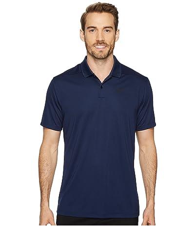 Nike Golf Dri-FITtm Victory Polo (College Navy/Black) Men
