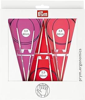Prym Aiguilles /à tricoter ergonomiques /à double pointe 15 cm 3,00 mm x 1 Blanc Taille unique